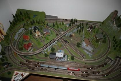 Modelleisenbahn Anlage 001