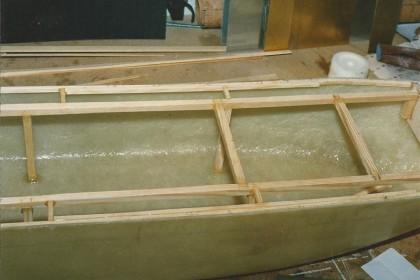 Deck-Unterbau